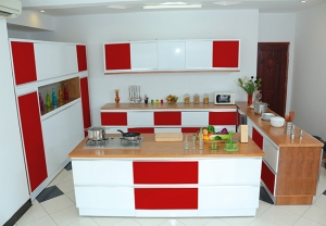 Kitchen red 6