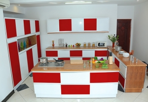 Kitchen red 3