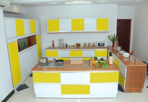 Kitchen yellow 8