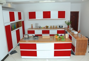 Kitchen red 2