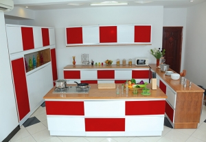 Kitchen red 7