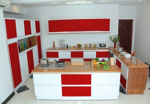 Kitchen red 5